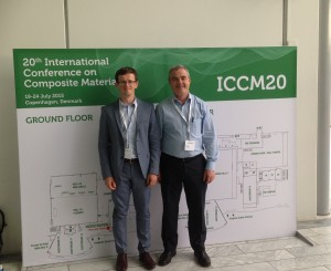 MARINCOMP memebers James Maguire and Prof Conchúr Ó Brádaigh at ICCM20.