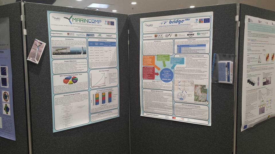 MARINCOMP Poster on display at event